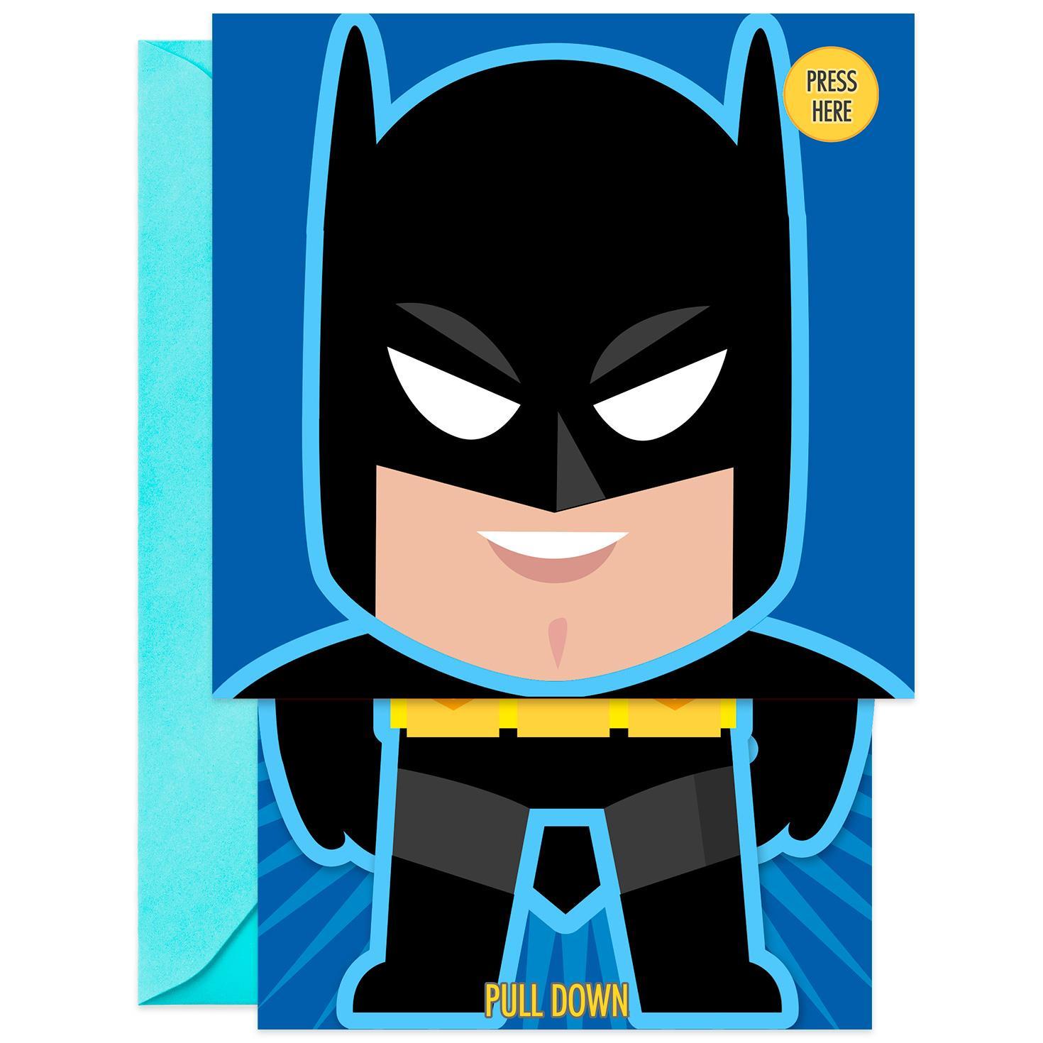 Batman bold daring cool musical pop up birthday card greeting batman bold daring cool musical pop up birthday card bookmarktalkfo Gallery