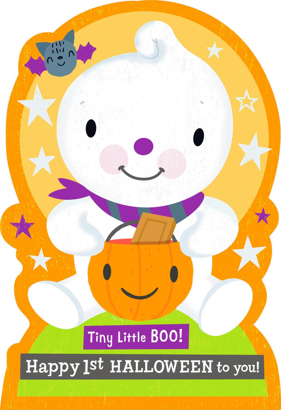 Tiny little boo babys 1st halloween card greeting cards hallmark tiny little boo babys 1st halloween card kristyandbryce Images