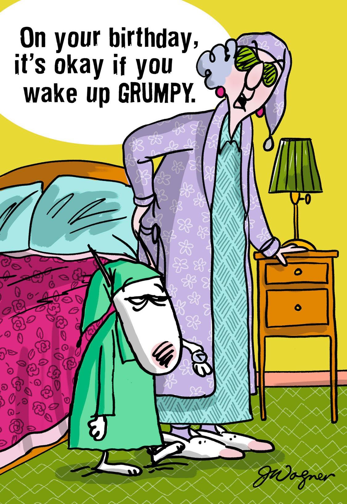 Maxine Waking Up Birthday Card Greeting Cards Hallmark – Maxine Birthday Greetings