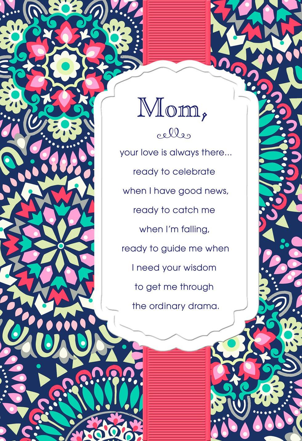 My Amazing Mother Birthday Card Greeting Cards Hallmark – Birthday Cards for a Mother