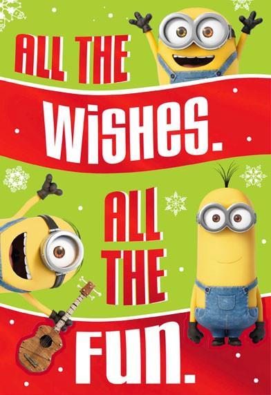 All the Minions Fun Christmas Card - Greeting Cards - Hallmark