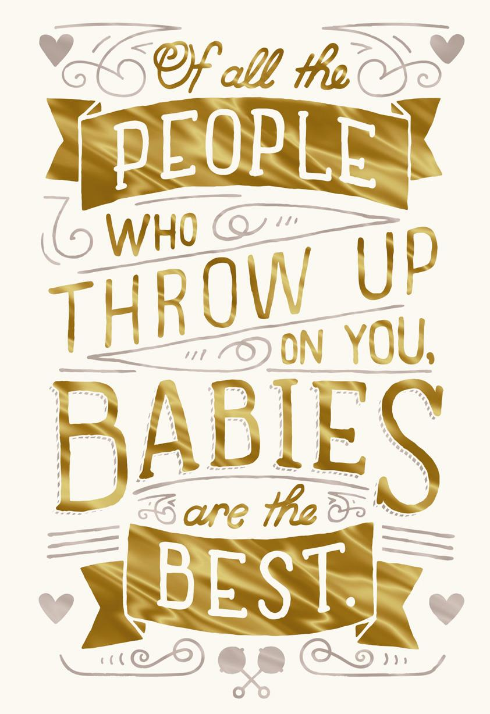 joys of parenthood funny new baby card greeting cards hallmark