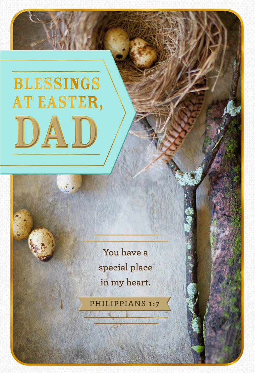Thinking of you religious easter card for dad greeting cards thinking of you religious easter card for dad m4hsunfo