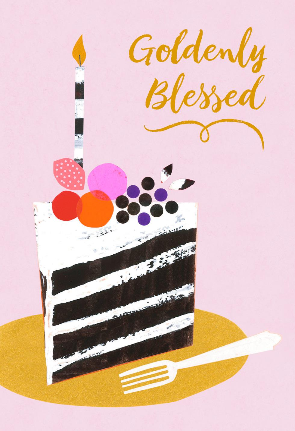 Jill Scott Count Every Single Blessing Musical Birthday Card