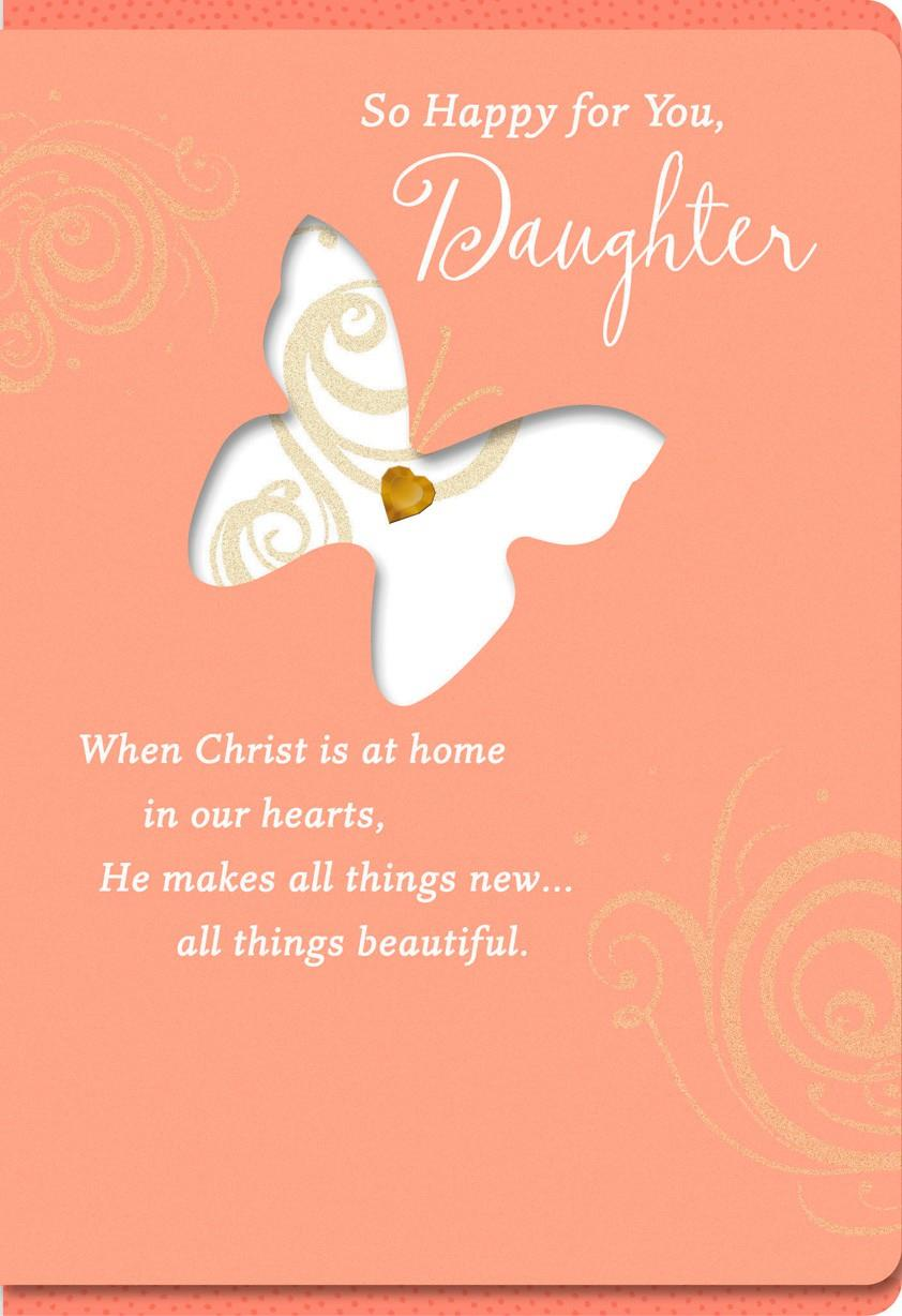 all things beautiful confirmation card for daughter