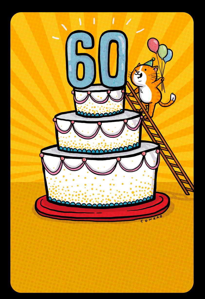 Getting Up There Funny 60th Birthday Card