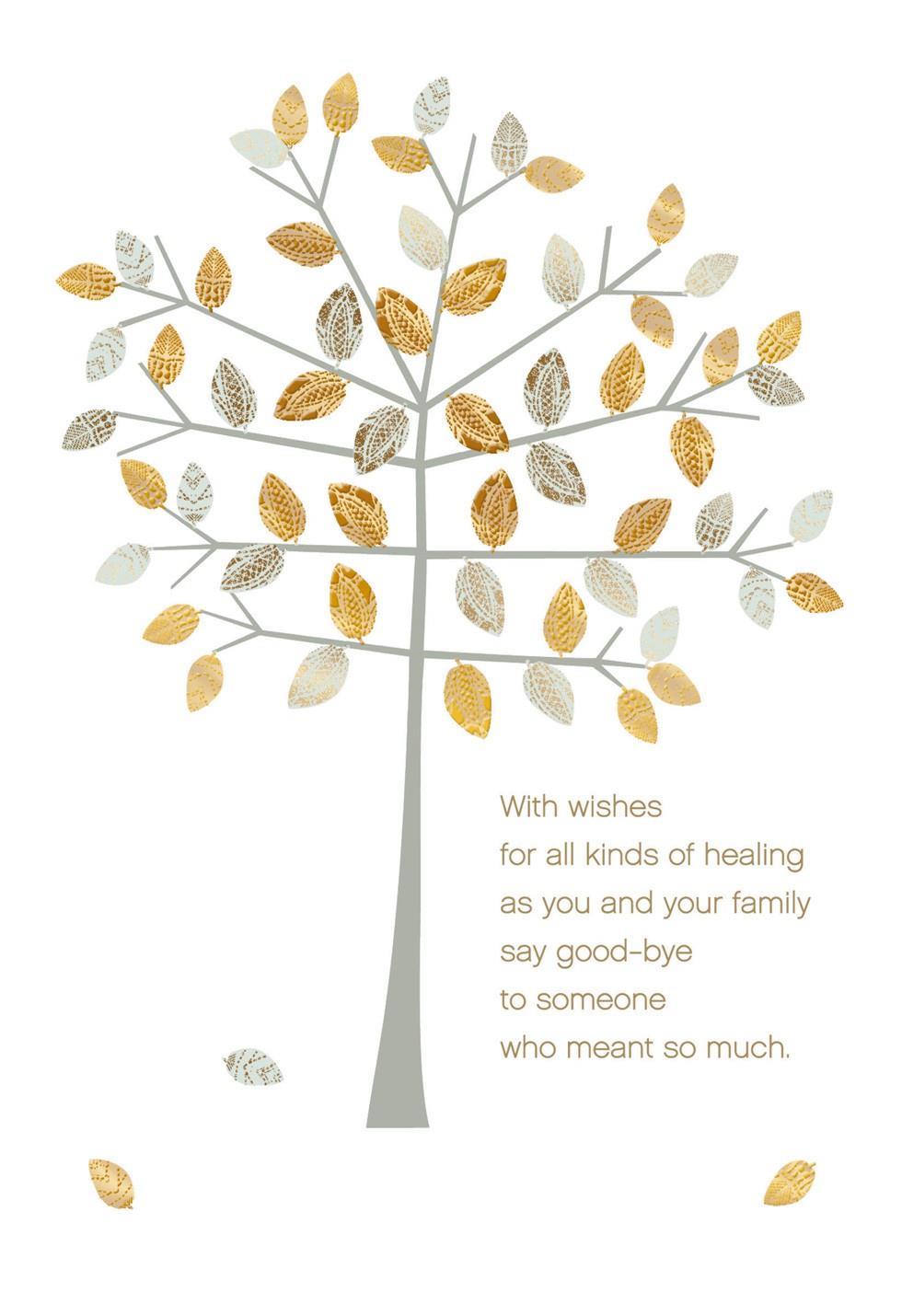 Healing Wishes Sympathy Card Greeting Cards Hallmark