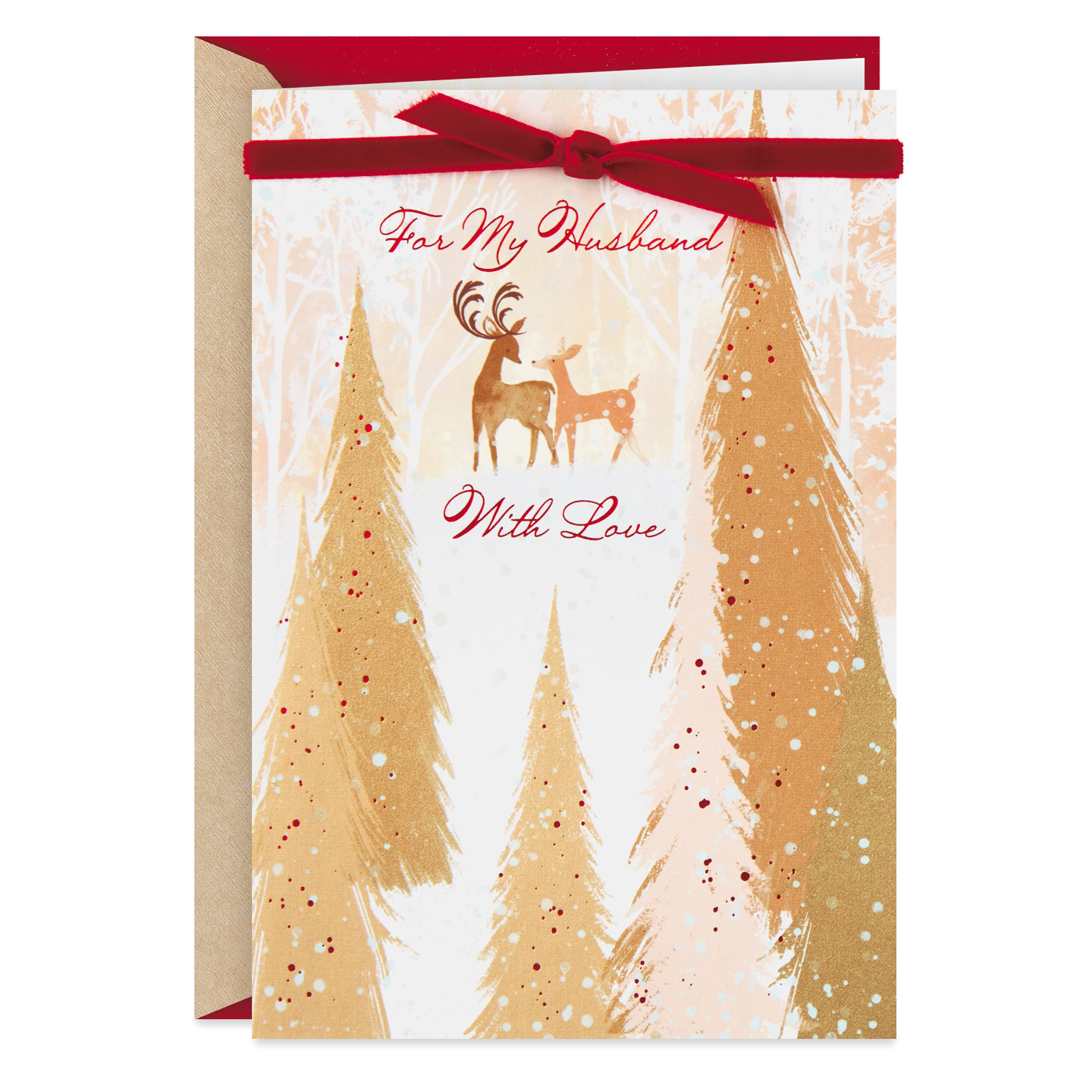 Life Full Of Love Christmas Card For Husband