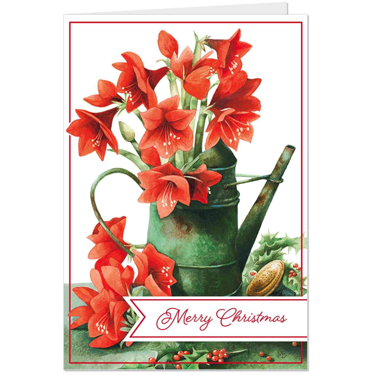 Marjolein Bastin Christmas Cards Pack Of 10 Boxed Cards