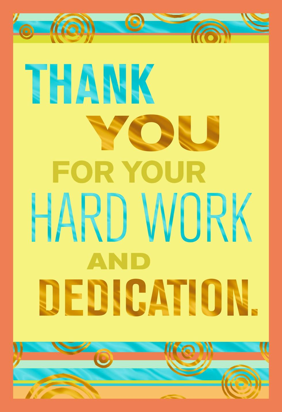 Thank You Quotes For Hard Work And Dedication: Thank You Administrative Professionals Day Card