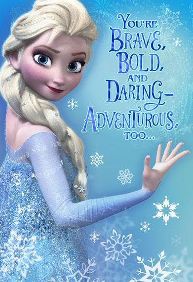 Frozen Elsa Christmas Card Greeting Cards Hallmark