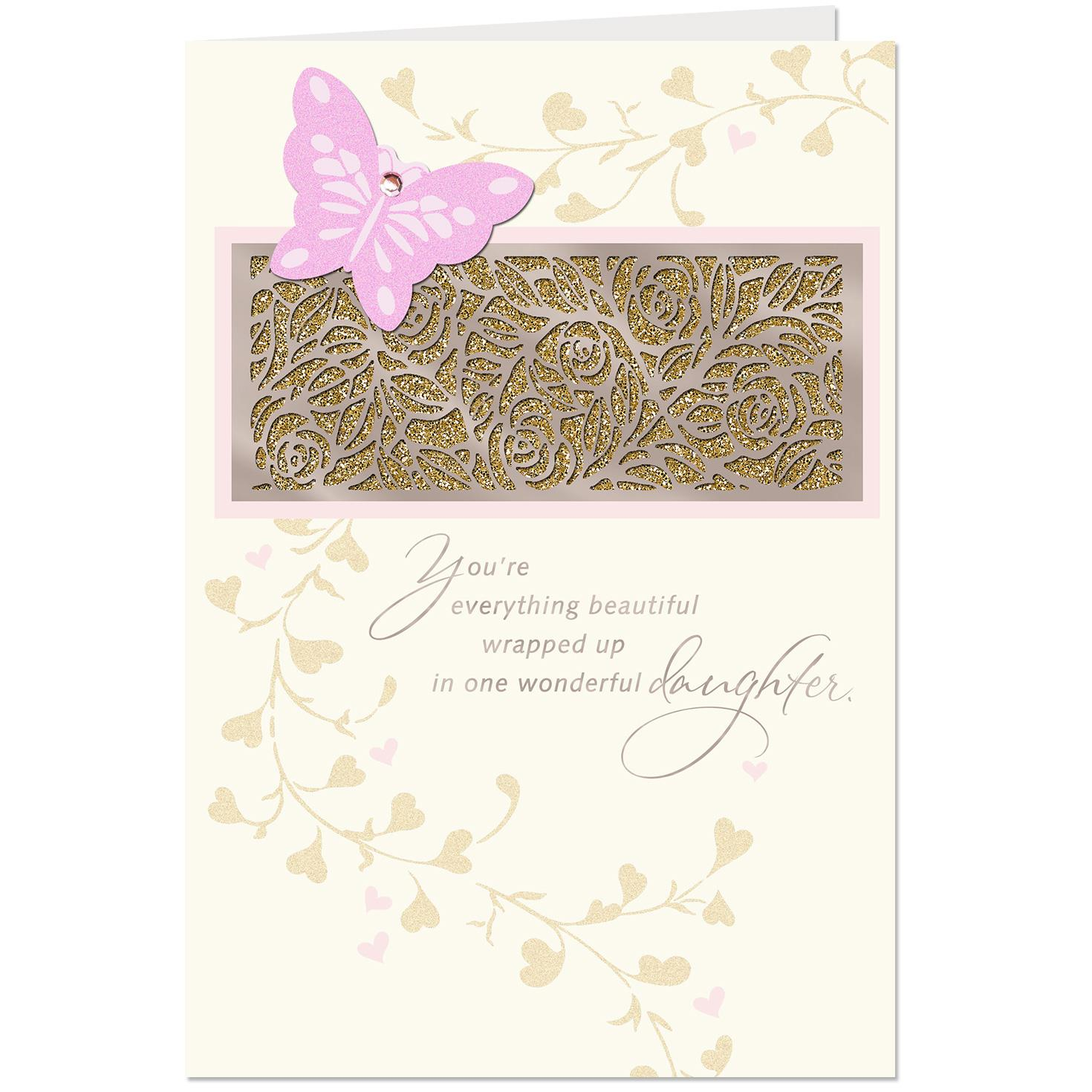 You Re Everything Beautiful Birthday Card For Daughter