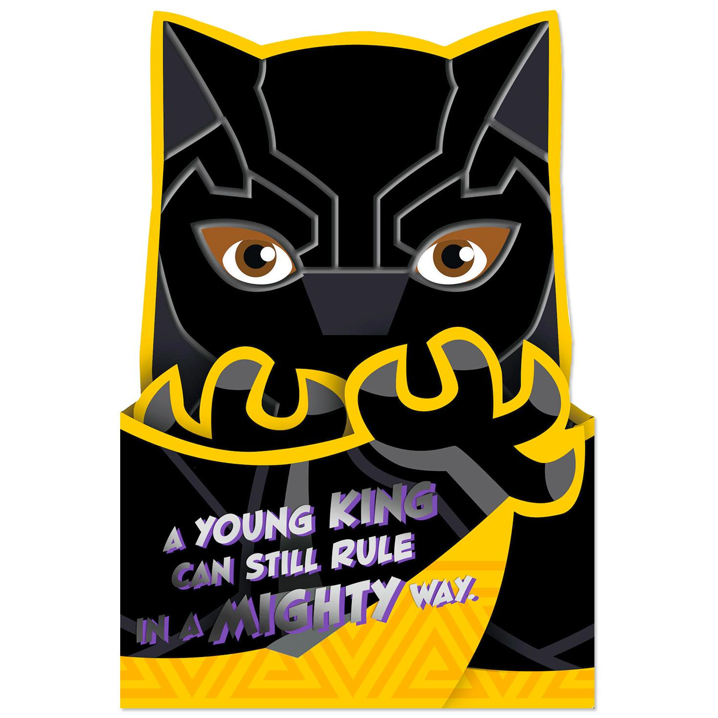 Black Panther Birthday Card For Boy Greeting Cards Hallmark