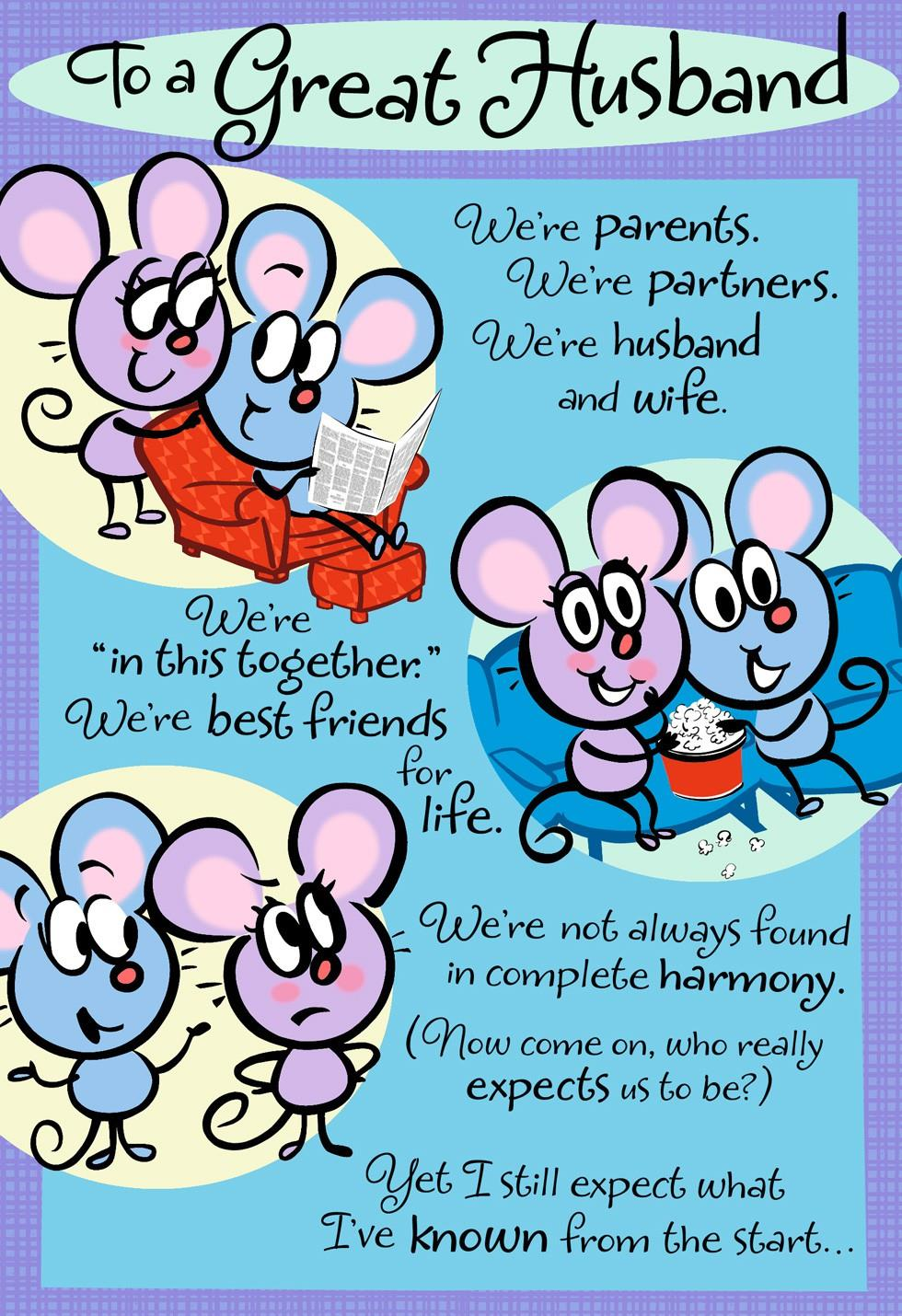 love you forever  husband father u0026 39 s day card