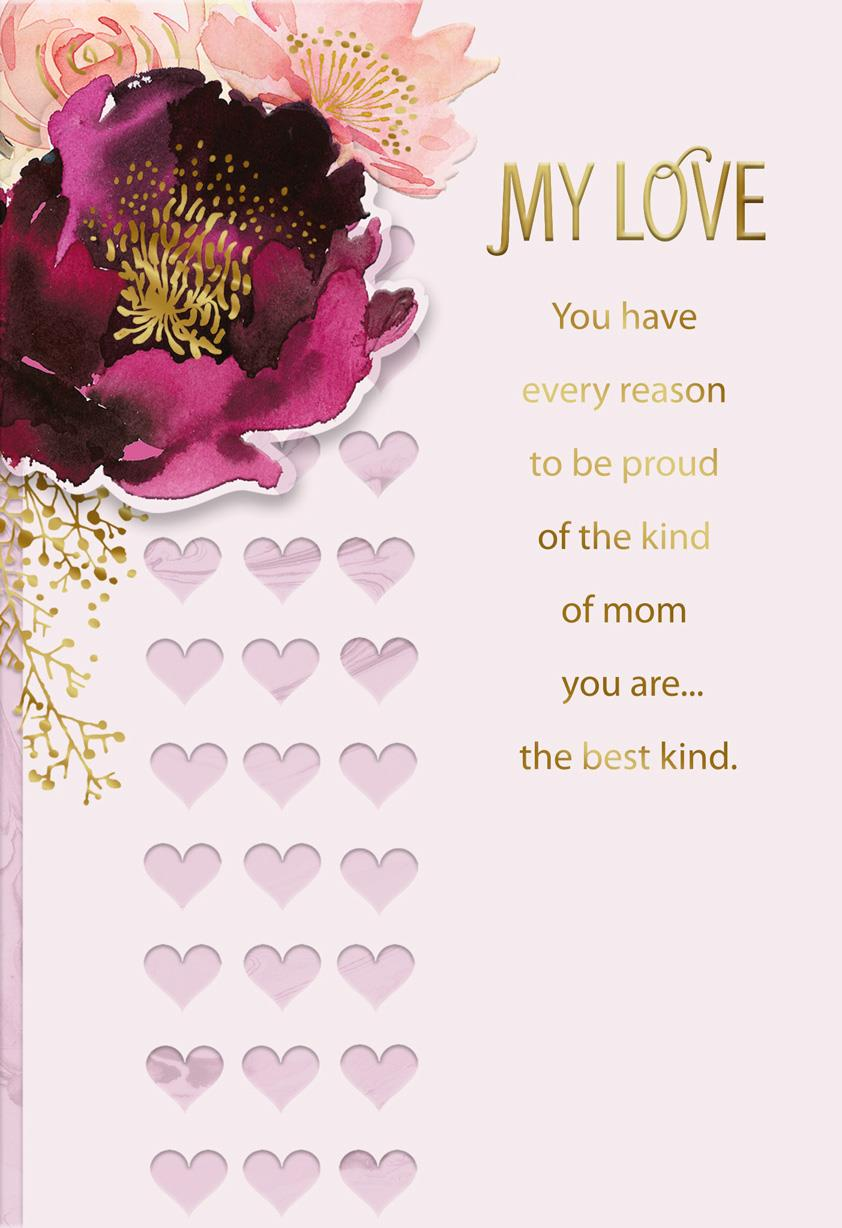 Best Mom and Best Wife Mother's Day Card - Greeting Cards ...