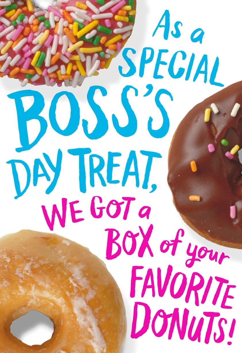 National Boss Day Cards