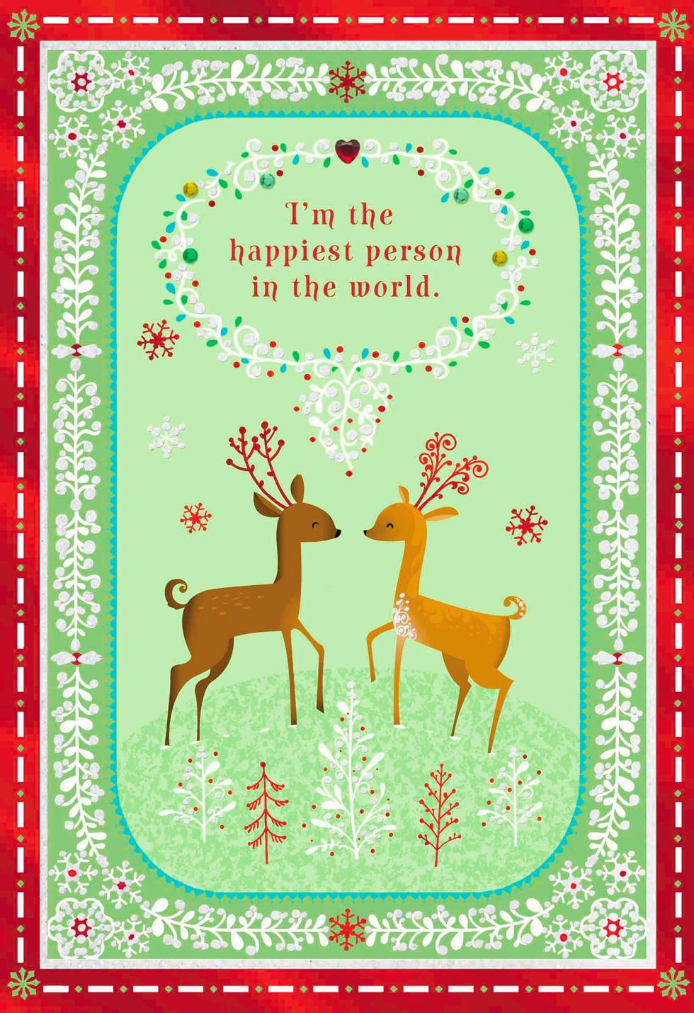 By My Side Christmas Love Card Greeting Cards Hallmark