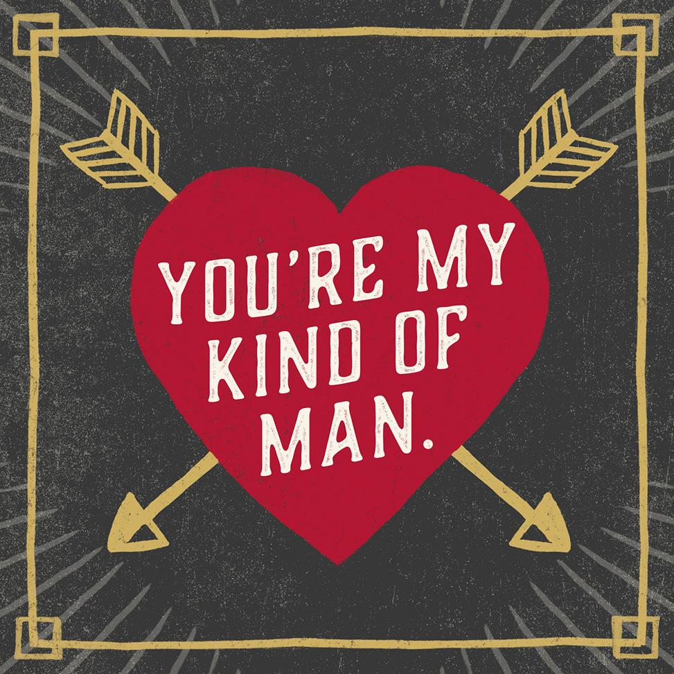 My Kind of Man Musical Valentines Day Card for Him  Greeting