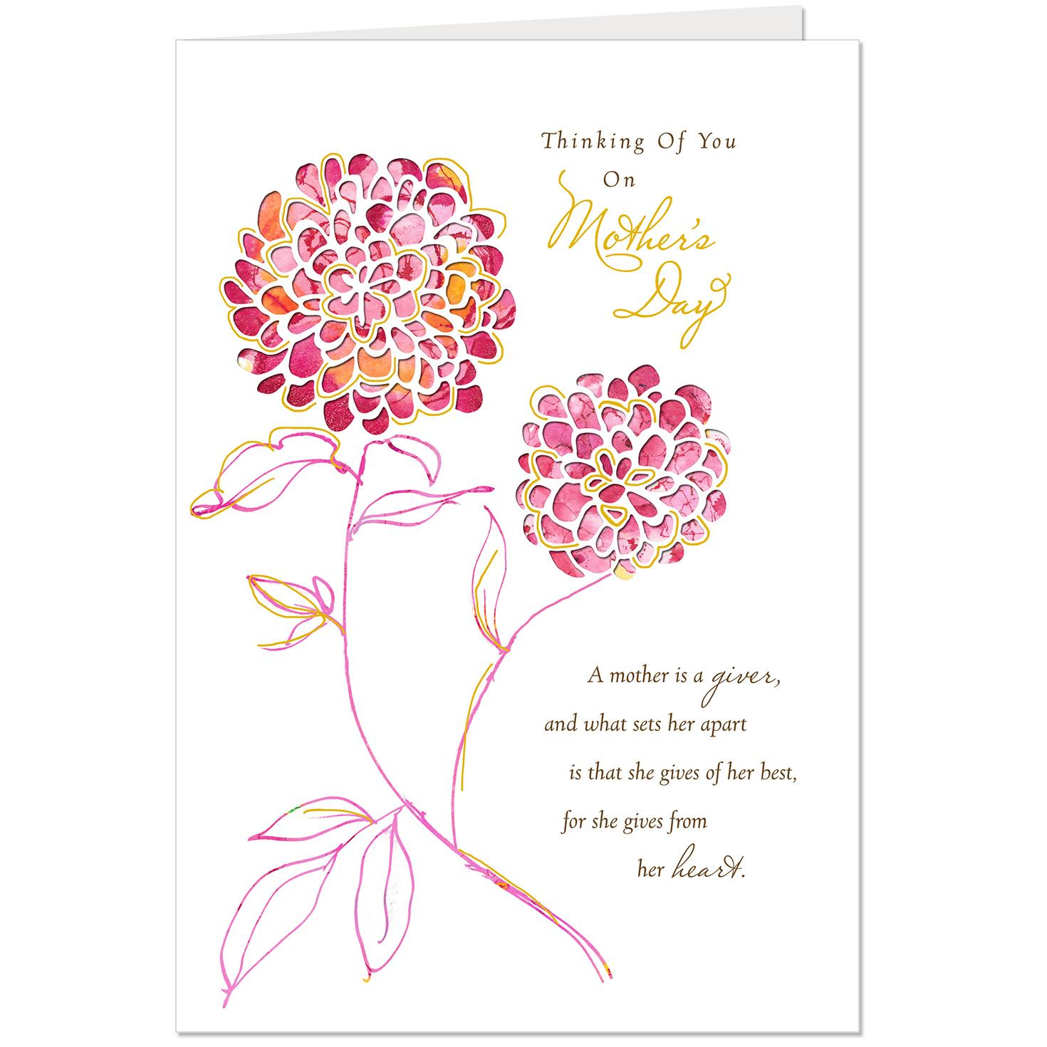 Lessons from you religious mothers day card greeting cards hallmark lessons from you religious mothers day card m4hsunfo
