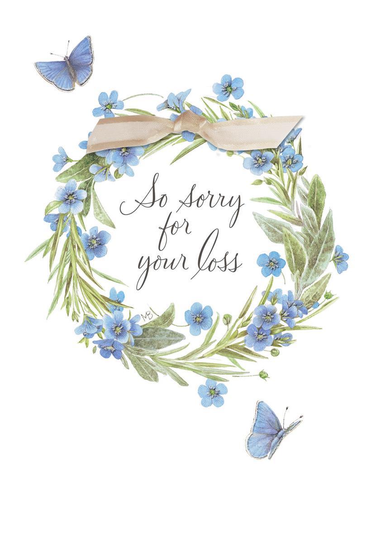 how to close a sympathy card