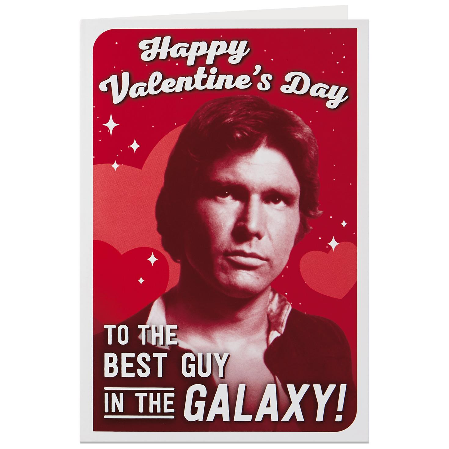 Perfekt Star Wars™ Han Solo™ Best Guy In The Galaxy Valentineu0027s Day Card