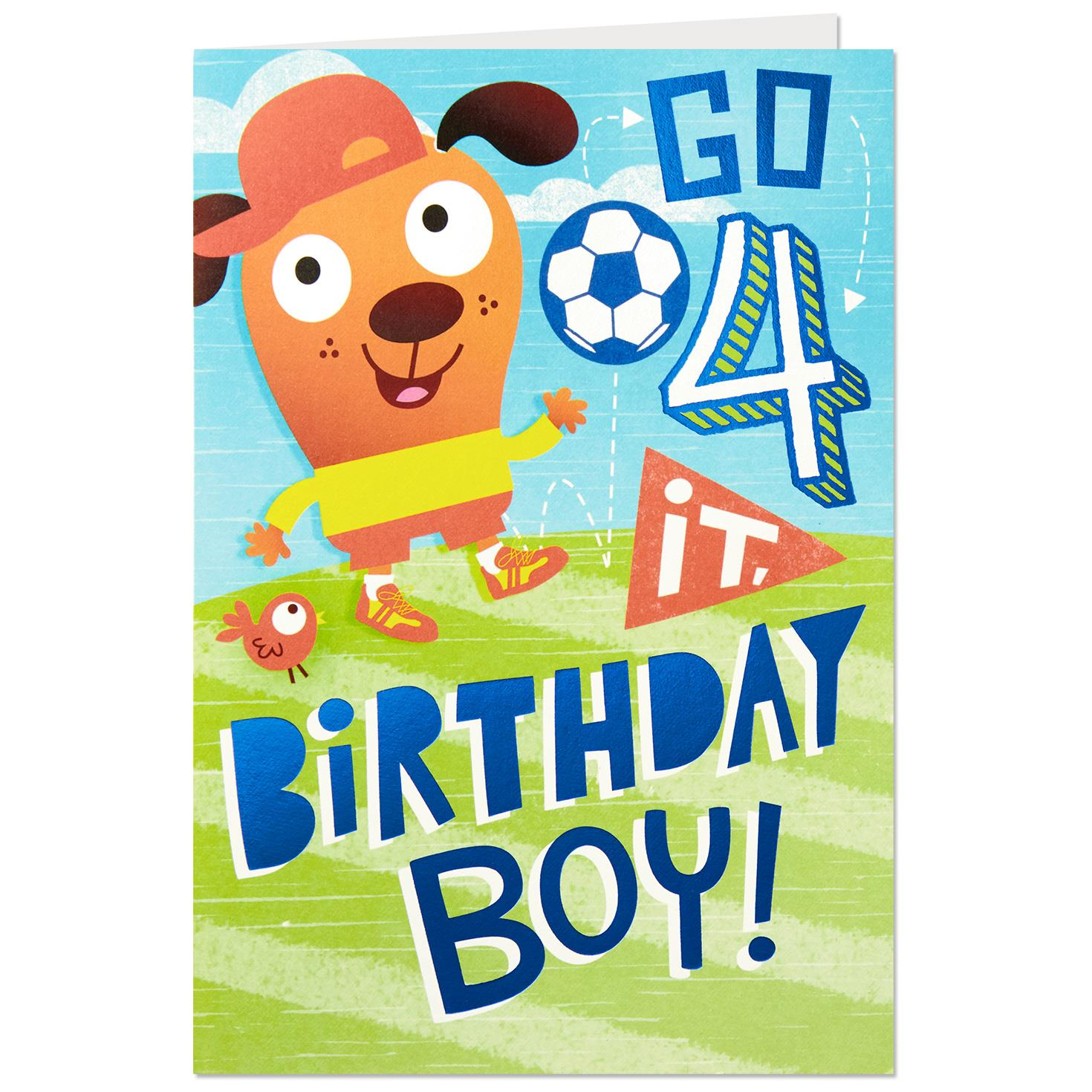 Cool Moves 4th Birthday Card