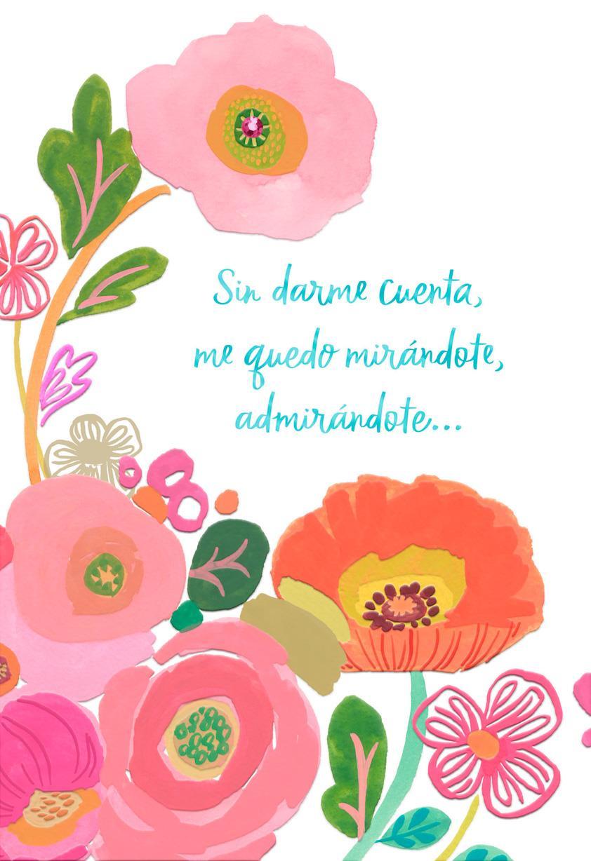 Flowers for my wife spanish language birthday card greeting cards flowers for my wife spanish language birthday card izmirmasajfo