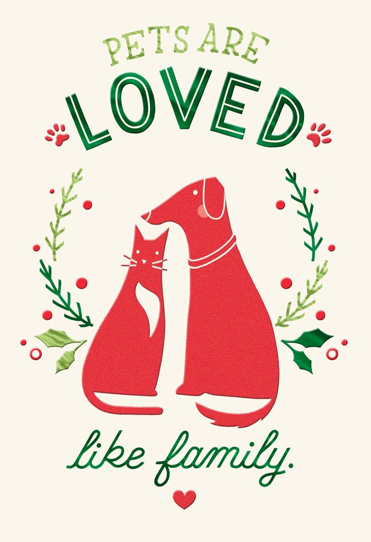 Pet Caregiver Thank You Christmas Card - Greeting Cards - Hallmark