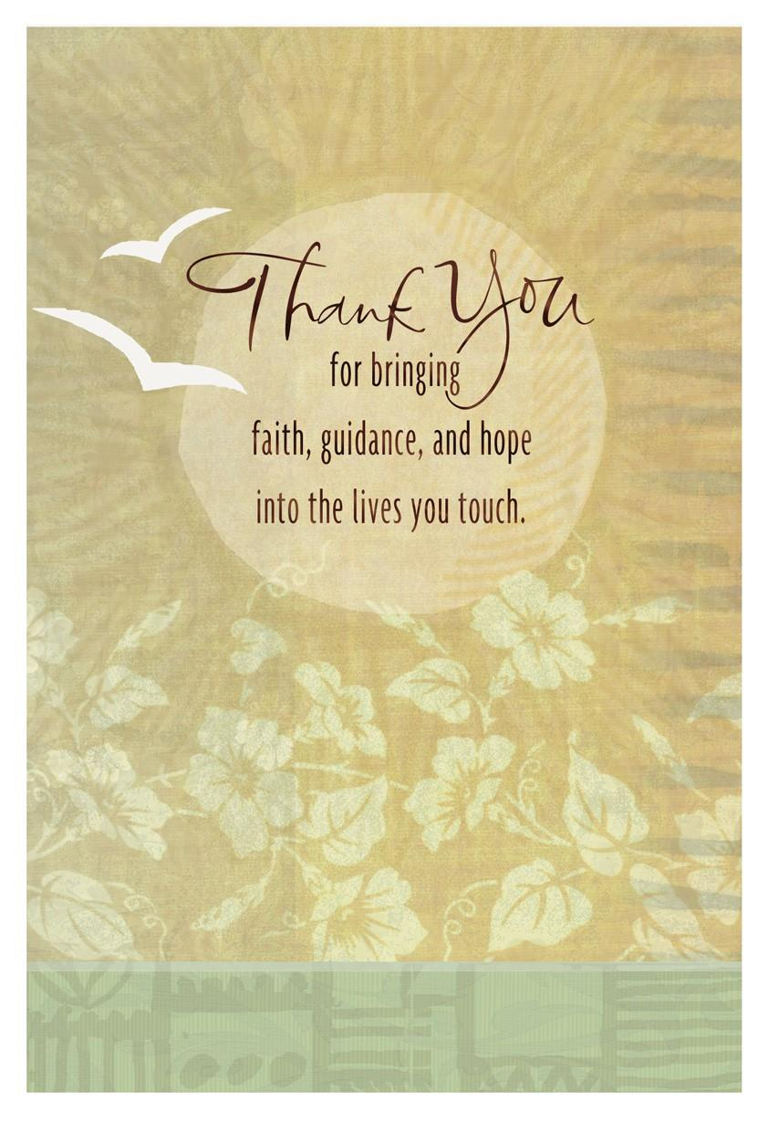 White Doves Religious Thank You Card End Of Life Hallmark
