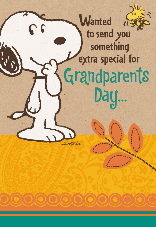 Peanuts snoopy big hug grandparents day card greeting cards peanuts snoopy big hug grandparents day card kristyandbryce Choice Image