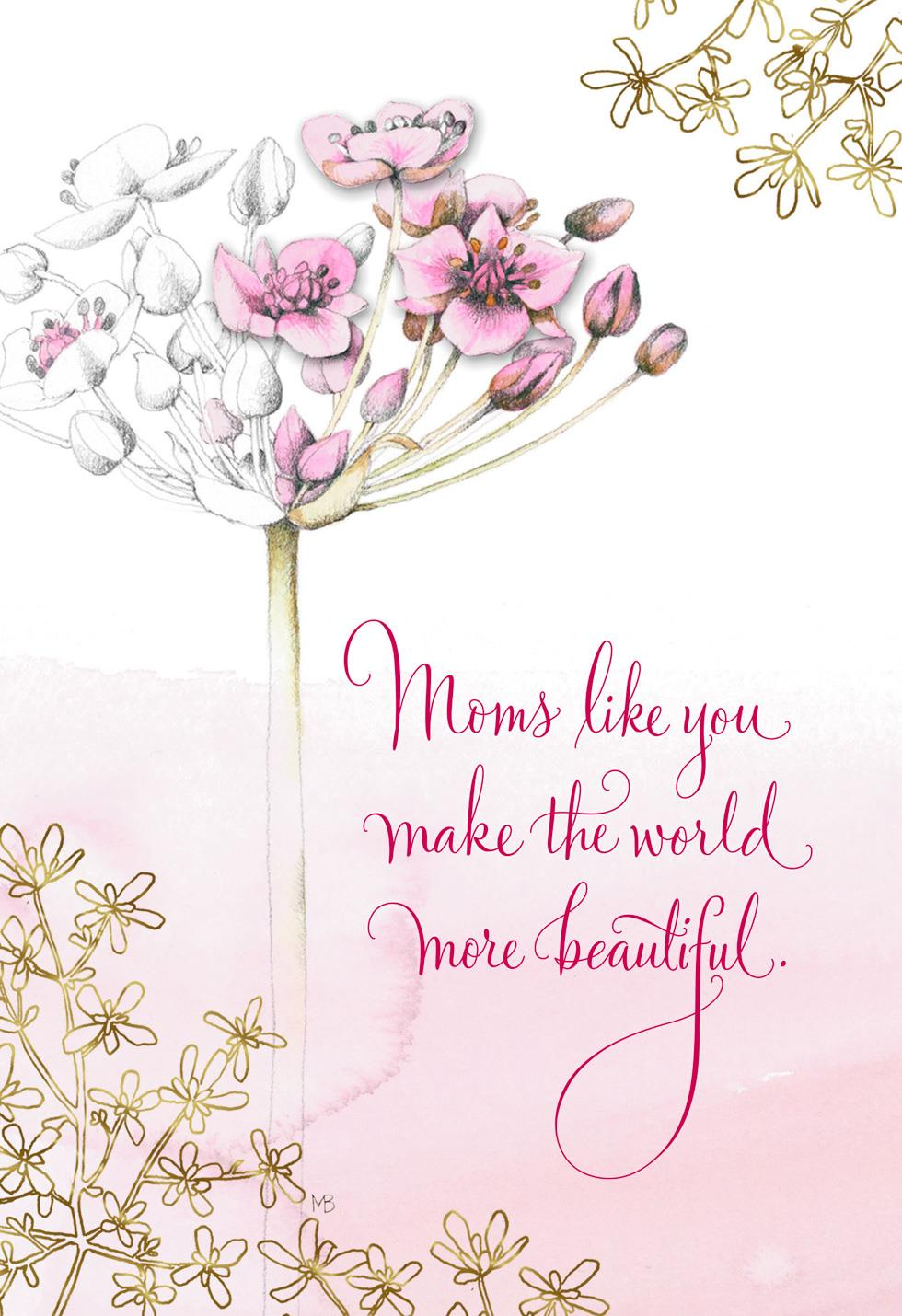 Marjolein bastin moms like you mothers day card greeting cards marjolein bastin moms like you mothers day card m4hsunfo