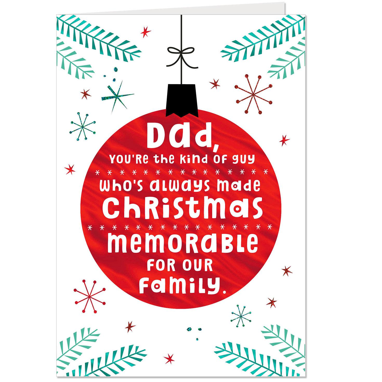 Dad Who Is Now Grandpa Christmas Card Greeting Cards Hallmark