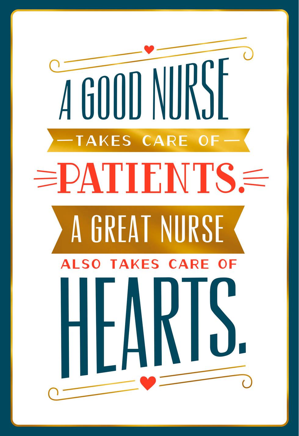 Nurses day cards and gifts hallmark thanks for being great nurses day card kristyandbryce Image collections