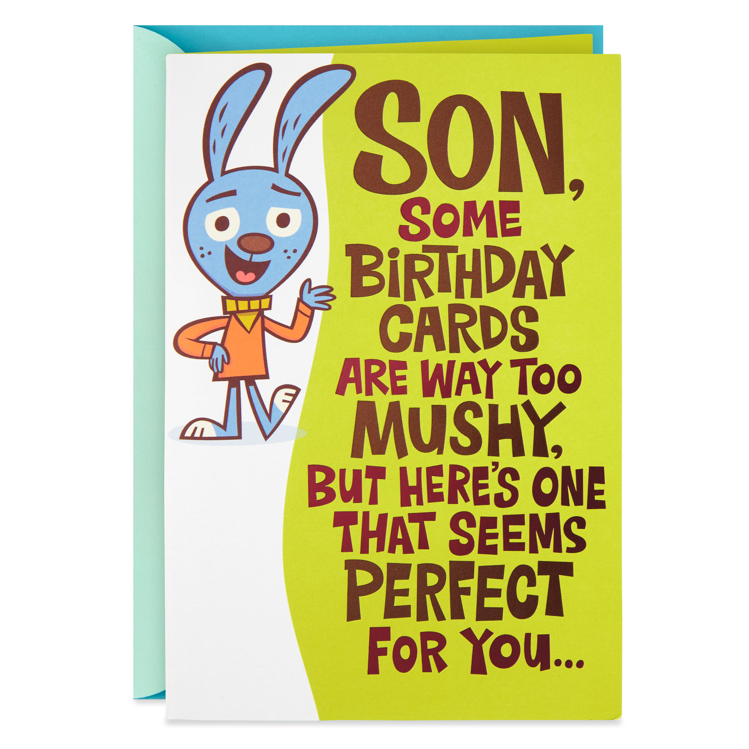 Love Fist Bump Funny Pop Up Birthday Card For Son