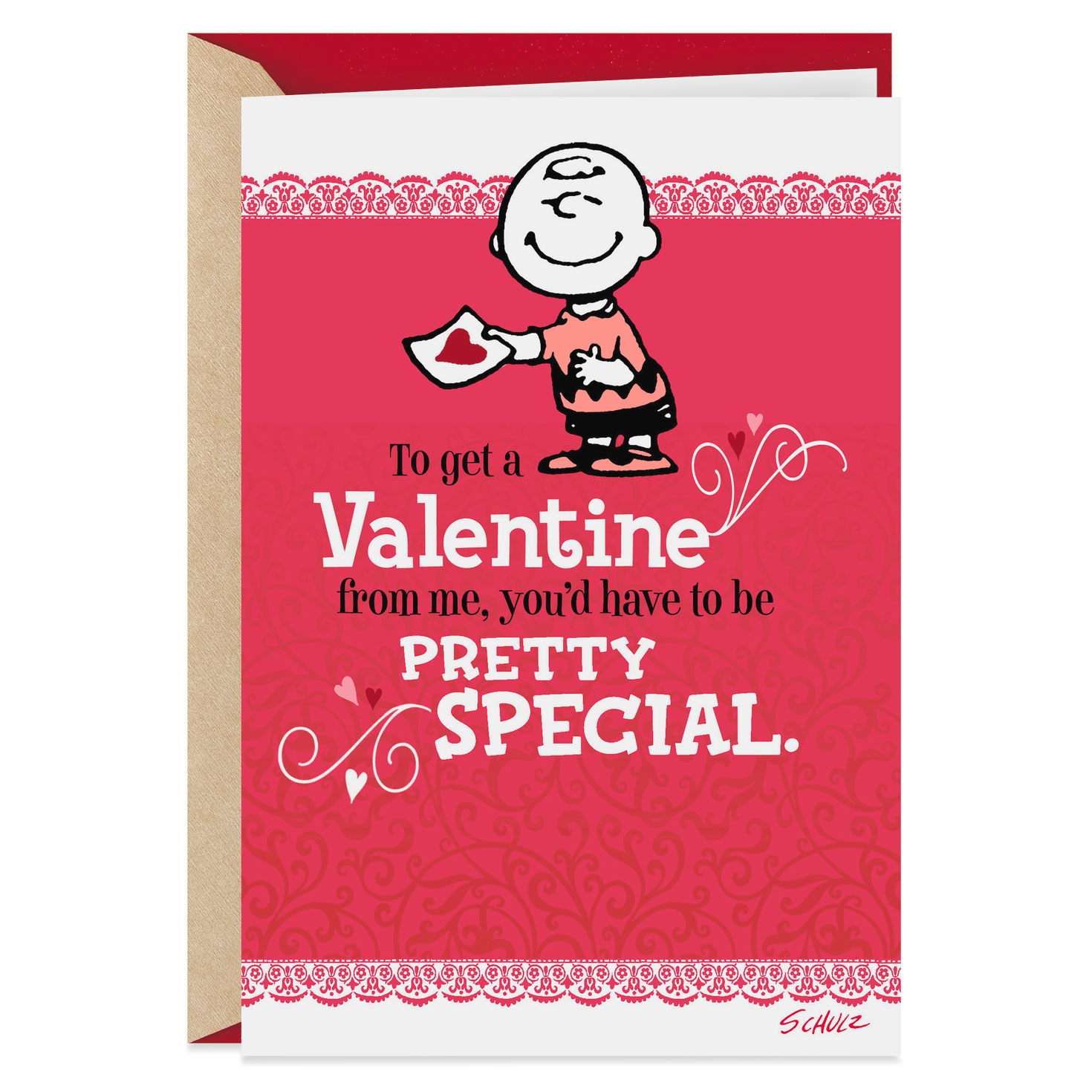 Peanuts® Charlie Brown You're Pretty Special Valentine's Day Card