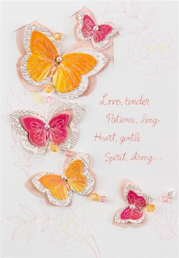 Butterfly Mobile Birthday Card For Mom Hallmark