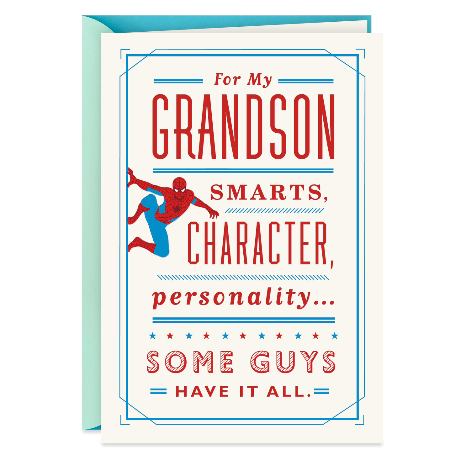 26 GRANDSON BIRTHDAY CARD HALLMARK for Young Men   CHOOSE FROM 13