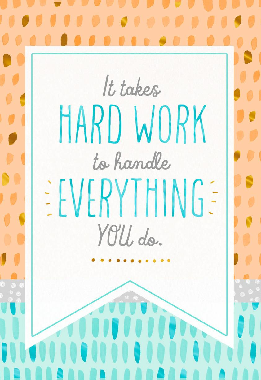 All Your Hard Work Admin Professionals Day Card Greeting