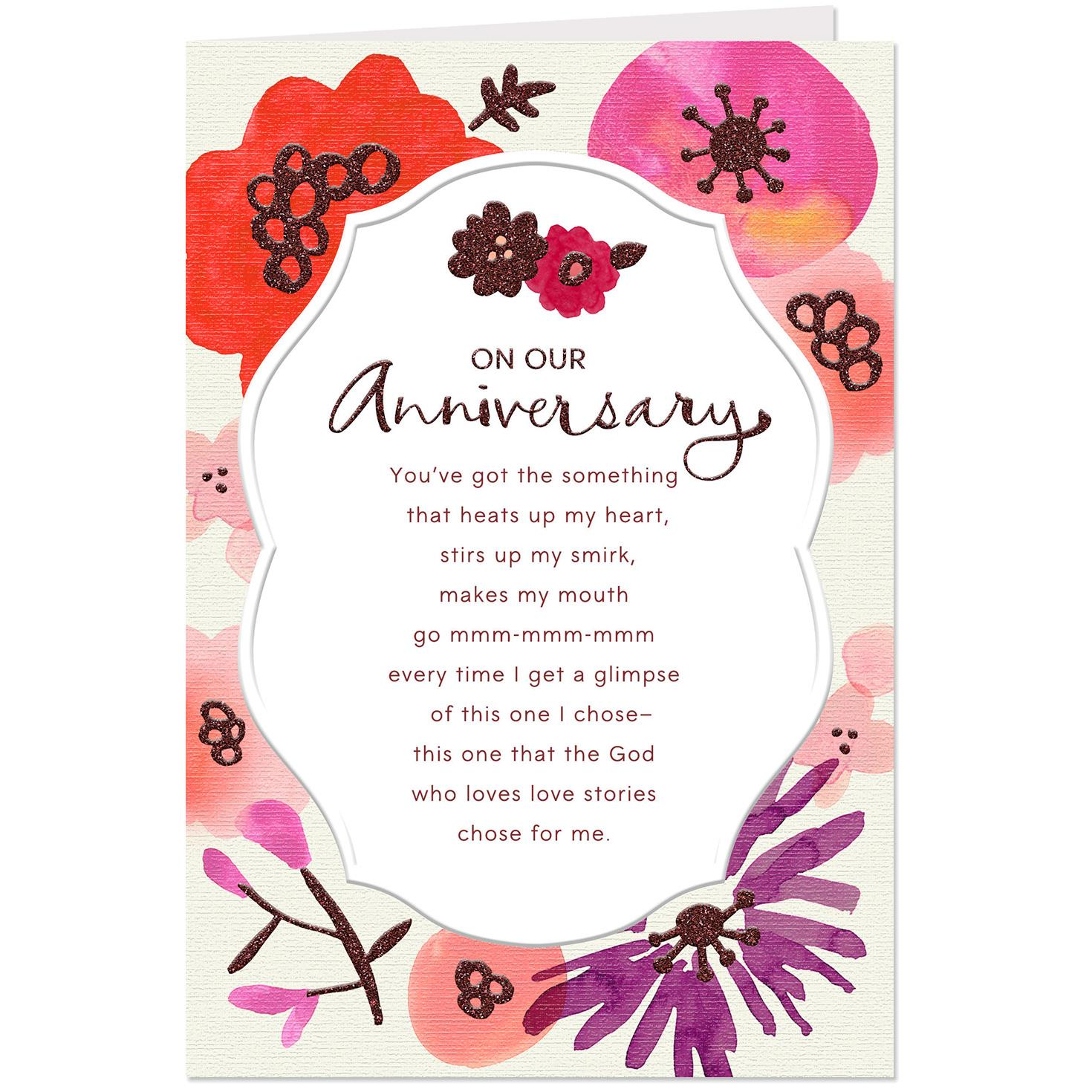 Blessed To Call You Mine Religious Anniversary Card