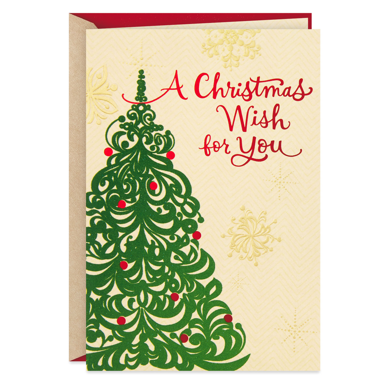 Christmas Tree Wish Christmas Card For Someone Special