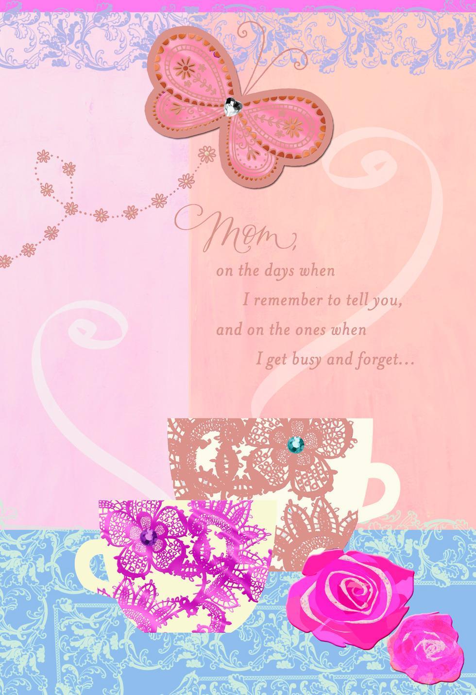 Wonderful Mom and Grandma Birthday Card for Mom - Greeting ...