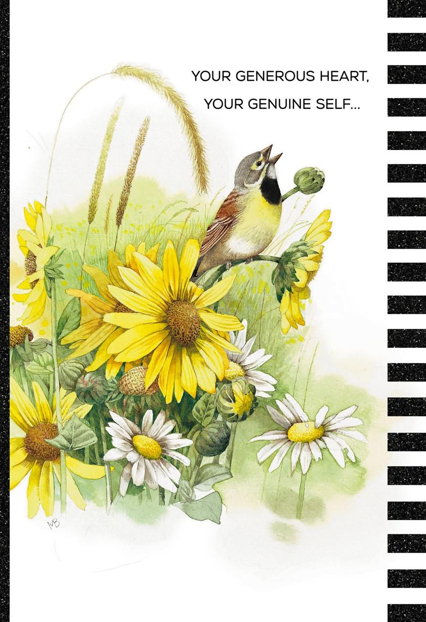 your generous heart marjolein bastin just because card
