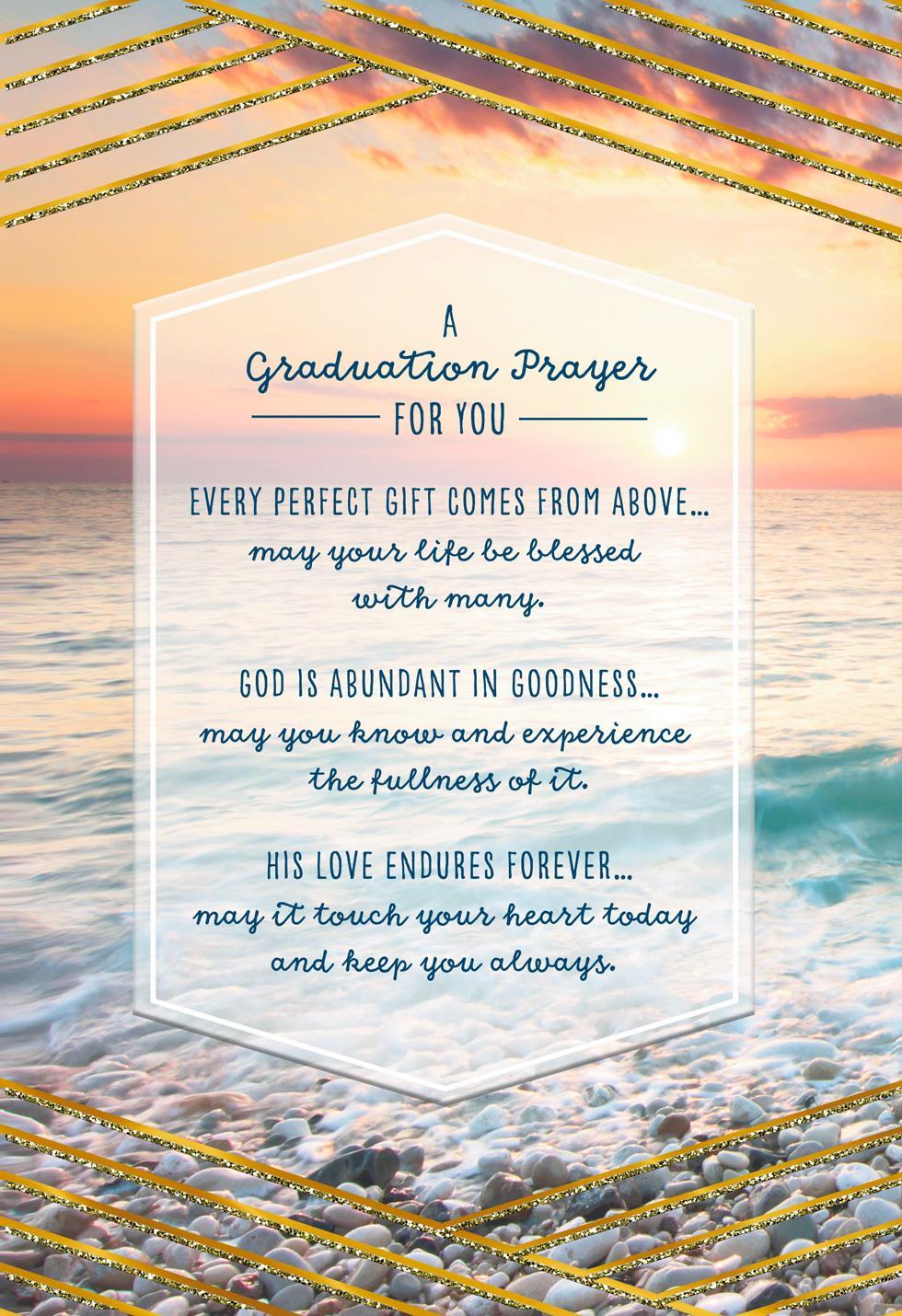Prayer for You Religious Graduation Card - Greeting Cards ...