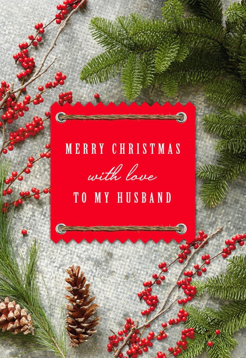 I love you christmas card greeting cards hallmark i love you christmas card kristyandbryce Choice Image