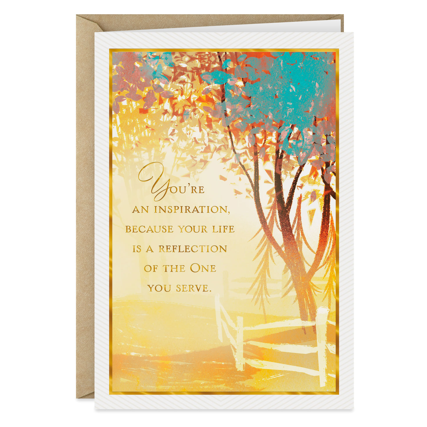 You Re An Inspiration Clergy Appreciation Card Greeting