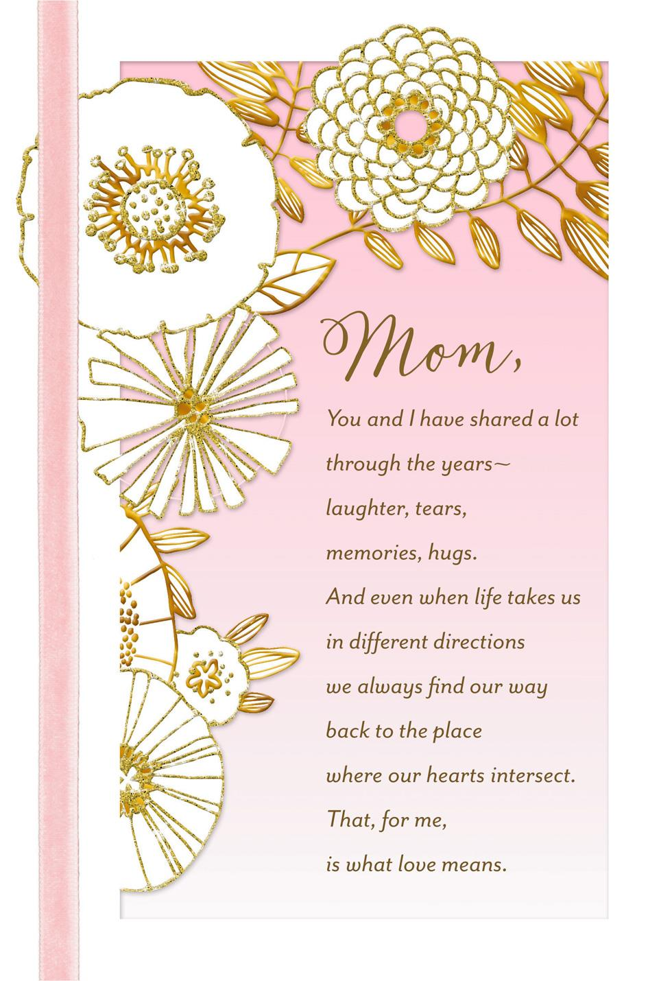 Gift For Mom On Wedding Day: My Mom, My Friend Religious Mother's Day Card