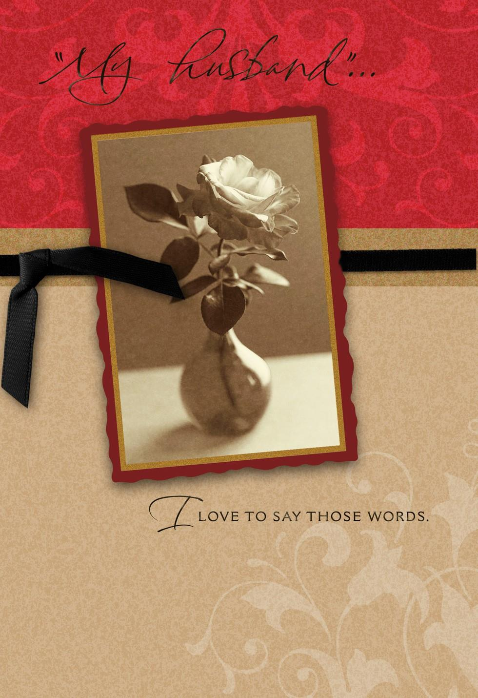 Husband First Valentines Day Card Greeting Cards Hallmark – First Valentines Day Cards