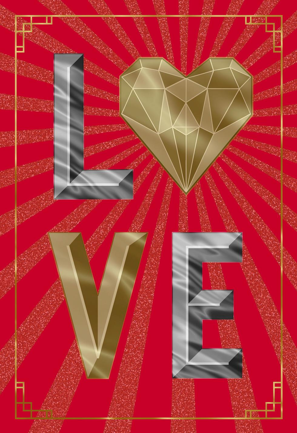 Love paper craft romantic valentines day card greeting cards love paper craft romantic valentines day card jeuxipadfo Images