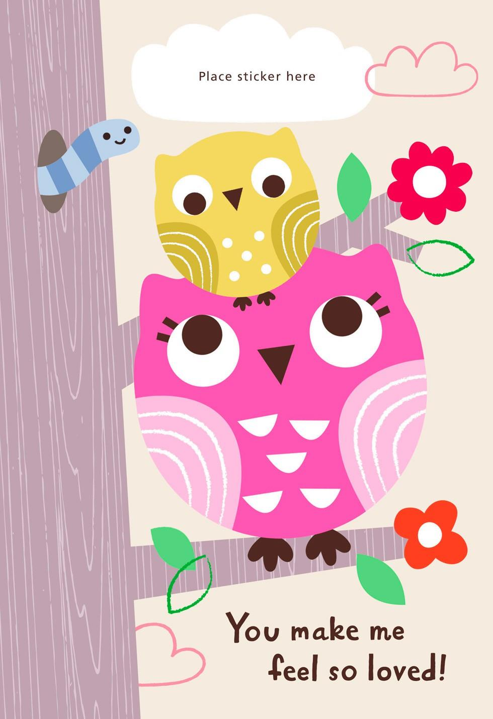 Mothers day cards hallmark two owls customizable mothers day card for grandma kristyandbryce Images