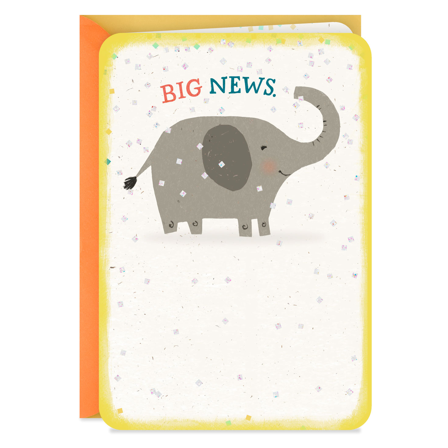 10 Cards with Envelopes Elephants Hallmark Baby Shower Thank You Cards